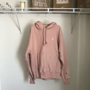 Champion UO Reverse Weave Pink/Mauve Hoodie
